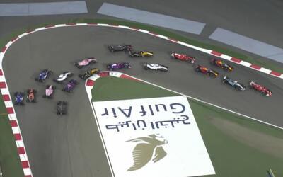 'Checo' Pérez ganó once posiciones en el Gran Premio de Bahréin de F1