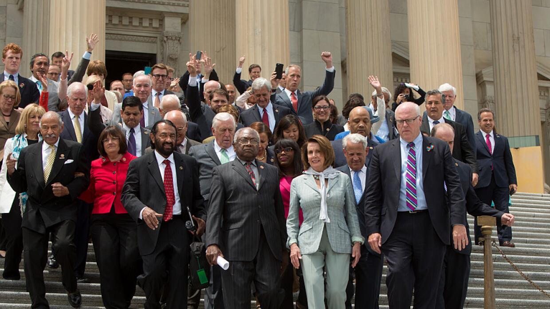 La lista de congresistas demócratas que no asistirán a la toma de posesi...
