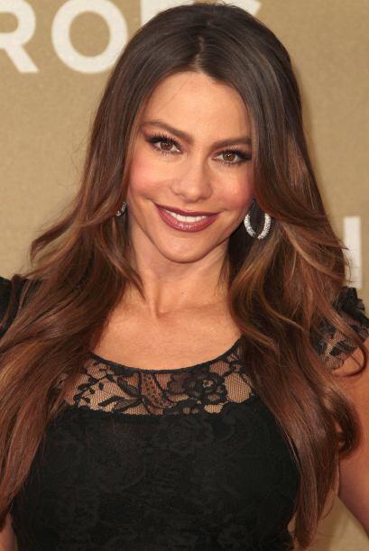 Sofía Vergara es otra de las latinas que siempre está al &...