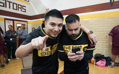 98.5 The Beat was at the Harlandale pep rally as they prepped for their...