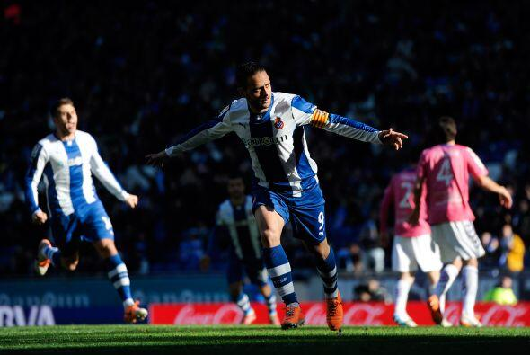 Sergio García comenzó la cuota de goles en favor de los 'Periquitos' al...
