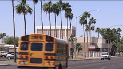 Autobus escolar del condado maricopa