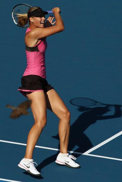 El tercero fue el de Australia, donde Sharapova superó a otra belleza, l...