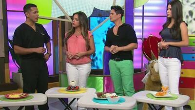 ¿Cómo se debe alimentar Stephanie Severino en su embarazo? Alejandro Cha...