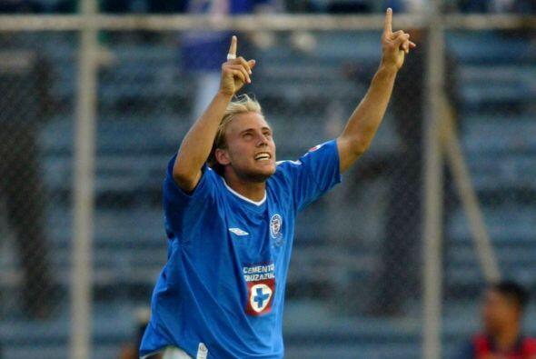 El argentino Luciano Figueroa llegó a Cruz Azul para tomar el pro...