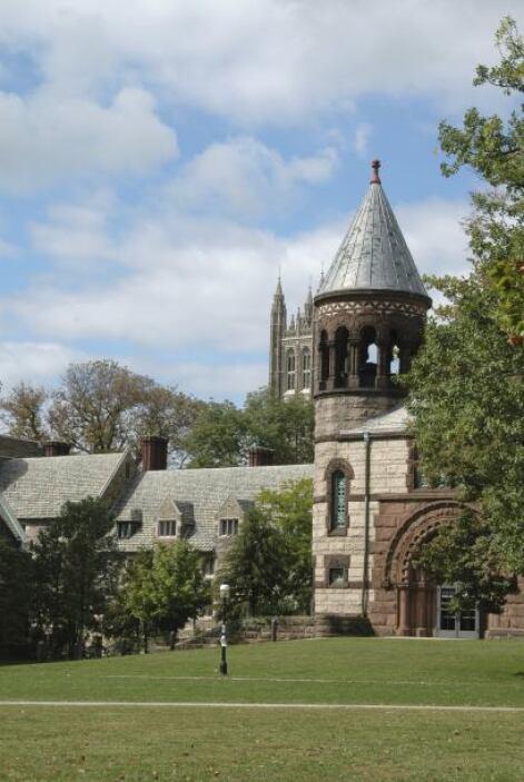 7) PRINCETON - Princeton es una de las universidades más ricas del mundo...