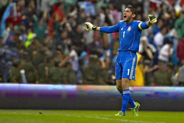 Un indiscutible de la Selección Mexicana para Brasil 2014. Jesús Corona...