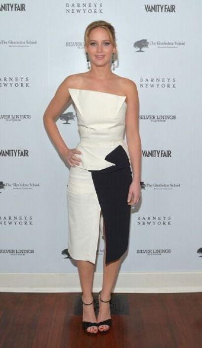 Este 'mini dress' que la actriz protagonista de 'The Hunger Games: Cathc...