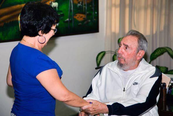 El pasado 7 de julio Fidel Castro estuvo en Centro Nacional de Investiga...