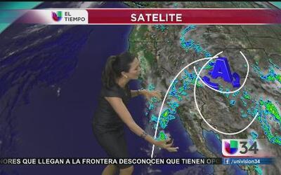 ¿Qué causa el inusual clima en CA?