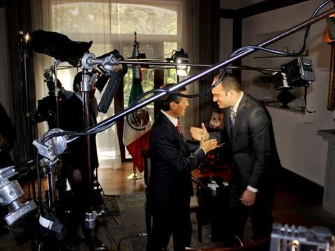 El presidente de México, Enrique Peña Nieto, habló en exclusiva para Uni...