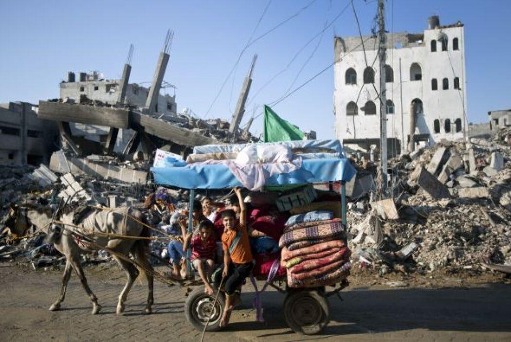 No hay cifras oficiales aún, pero las autoridades palestinas calculan la...