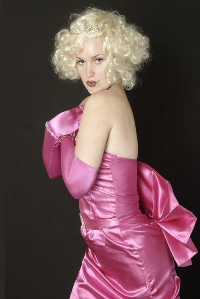 Marilyn Monroe en Gentelmen Prefer Blondes. Si quieres recrear a la diva...