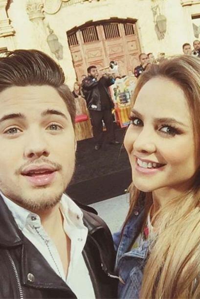 """¡En Plaza México, con Ximena Cordoba!"", compartió William. (Febrero 2,..."