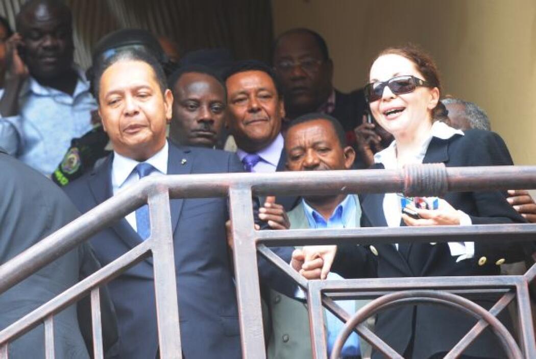 El ex dictador de Haití, Jean-Claude Duvalier, fue sacado de su hotel po...