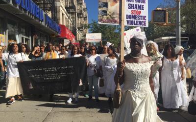 La Marcha de las Novias se ha llevado a cabo durante 16 años en m...