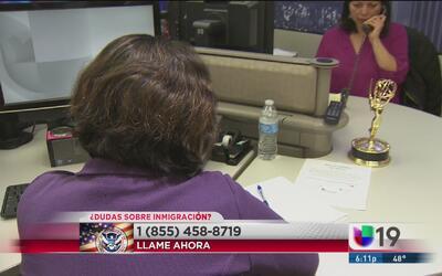 Univision 19 responde todas tus dudas sobre inmigración