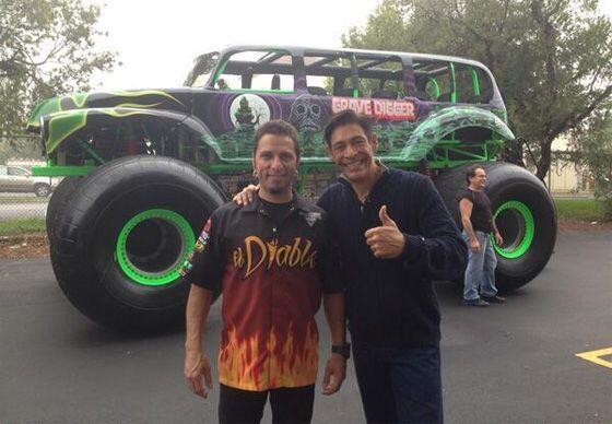 """""""Foto con mi amigo JP Ruggiero conductor de El Diablo en Monster Ja..."""