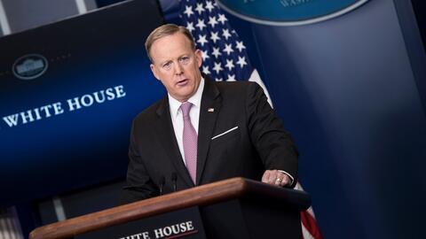 Spicer confirma que EEUU lanza por primera vez su bomba más potente no n...