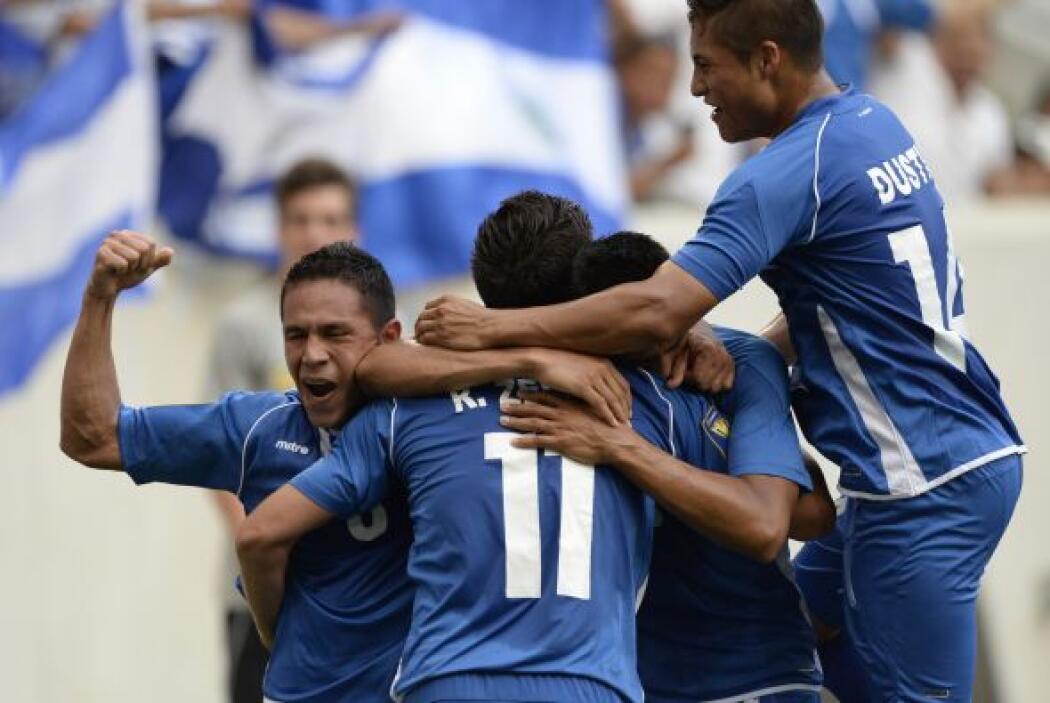 Ese gol ayudó a los cuscatlecos a firmar el punto en su debut en Copa Oro.