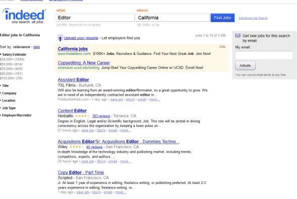 Indeed: De los sitios para buscar trabajo, este tiene al mes 140 millone...