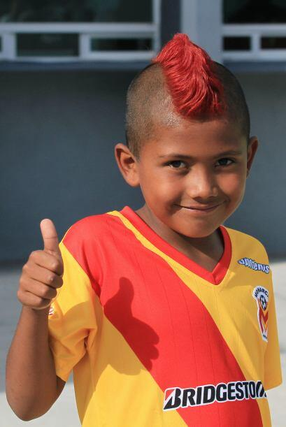 Hasta 'Neymarcito' mostró su pasión por la Fuerza Monarca.