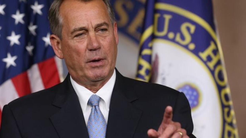 John Boehner aseguró que, ahora que los republicanos dominan el Congreso...