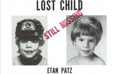 La imagen del pequeño Etan Patz fue publicada en carteles en la calle, e...