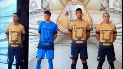 El nuevo uniforme de Pumas para el Apertura 2015.