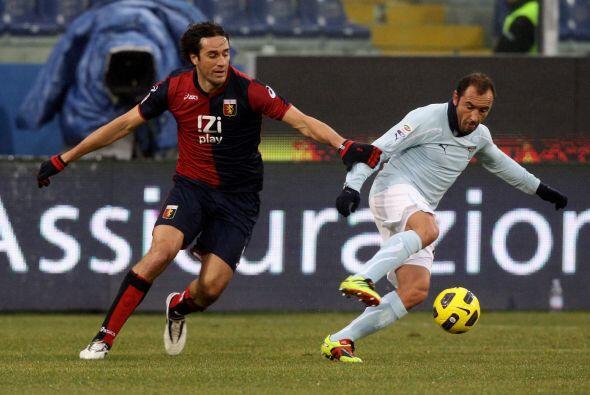 Por último, Lazio tenía la esperanza de no perder el paso...