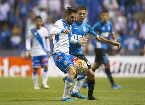 Puebla empató 2-2 con Racing en la ida