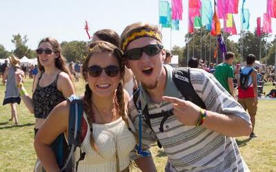 Miles se dieron cita en el primer fin de semana del festival de música m...