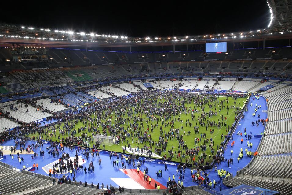Escenas de terror en París