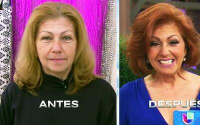 Anette recibió una transformación en el día de la secretaria