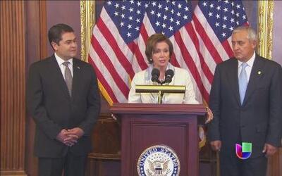 Los mandatarios centroamericanos llegaron a Washington
