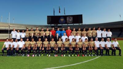 Foto oficial Pumas Apertura 2015.
