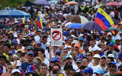 Entre los acuerdos exigidos por la oposición venezolana est&aacut...