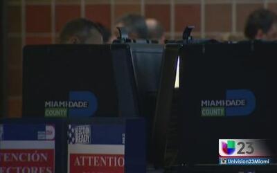 Sin sorpresas los resultados de las primarias en Miami Dade