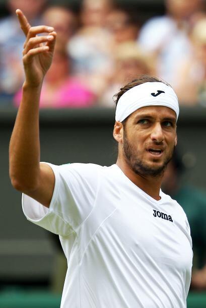 Feliciano López logró vencer por primera vez a Roddick en...