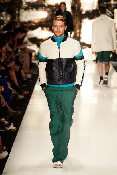 Tonos de moda. En esta primavera, los colores ideales 'for him' son verd...