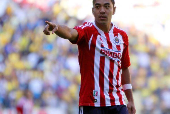 Marco Fabián es otro de los que entra en el cuadro de honor pues a pesar...