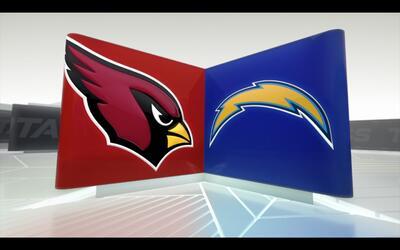 Cardinals 3-19 Chargers: El pateador Josh Lambo consiguió 4 goles de campo
