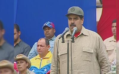 Maduro aumentará el número de miembros de la milicia a 500,000 a dos día...