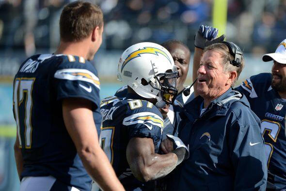 38. San Diego Chargers  Valor: $936 millones.  Dueño: Familia Spanos.