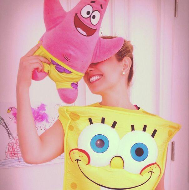 Thalía dijo que por sus niños eligió disfrazarse de...