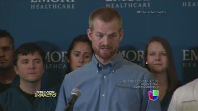 Se recuperó el médico contagiado con el virus del ébola