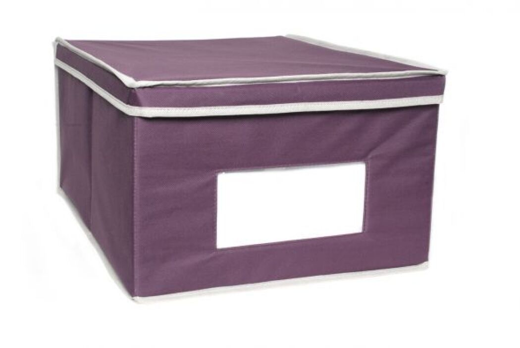 Otro modelo que pudes usar son las cajas de tela o lona que tienen etiqu...