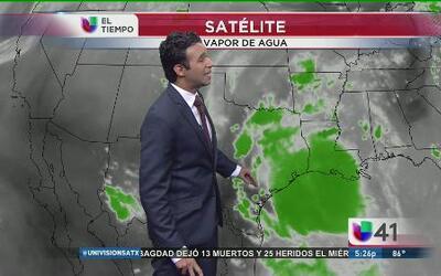 Gran cantidad de humedad y altas probabilidades de lluvia