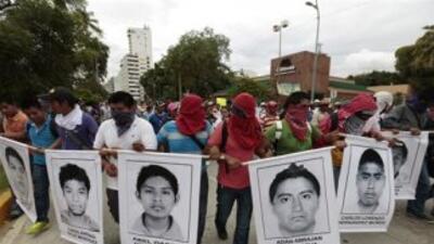 Fotos de algunos de los 43 desaparecidos en Iguala.