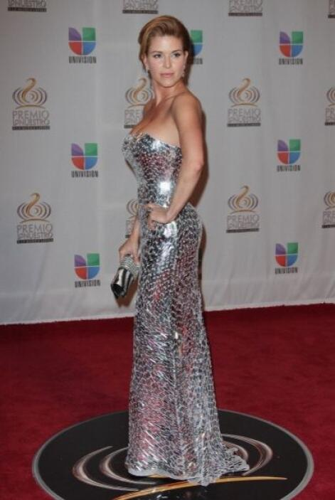 Alicia Machado es otra latina que conquistó Miss Universo.Su estilo va m...